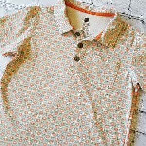 Tea Collection Geometric Print Polo Shirt 6